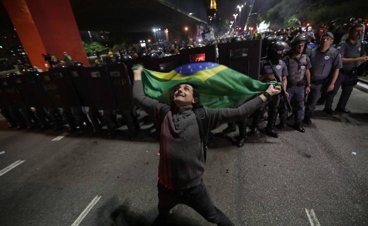 Las imágenes de la victoria en Brasil