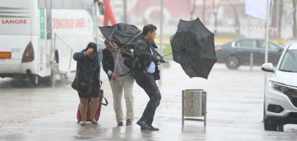 Málaga, de nuevo en aviso naranja por lluvias este martes