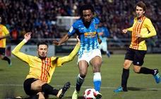 El Atlético se salva de milagro del empate ante el Sant Andreu