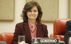 La vicepresidenta rechaza que haya sido desautorizada por el Vaticano con Franco
