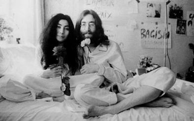 Llevan al cine la historia de amor de John Lennon y Yoko Ono