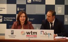 Málaga se vende en la WTM de Londres como la ciudad de los museos referente de Europa