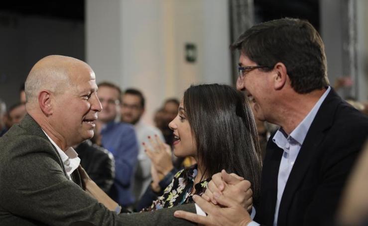 Fotos del acto de presentación de la campaña de Ciudadanos para las elecciones andaluzas celebrado en Málaga