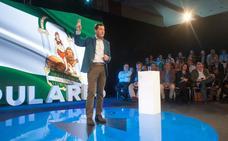 Juanma Moreno: «Quien quiera hacer historia que se apunte al cambio del PP»