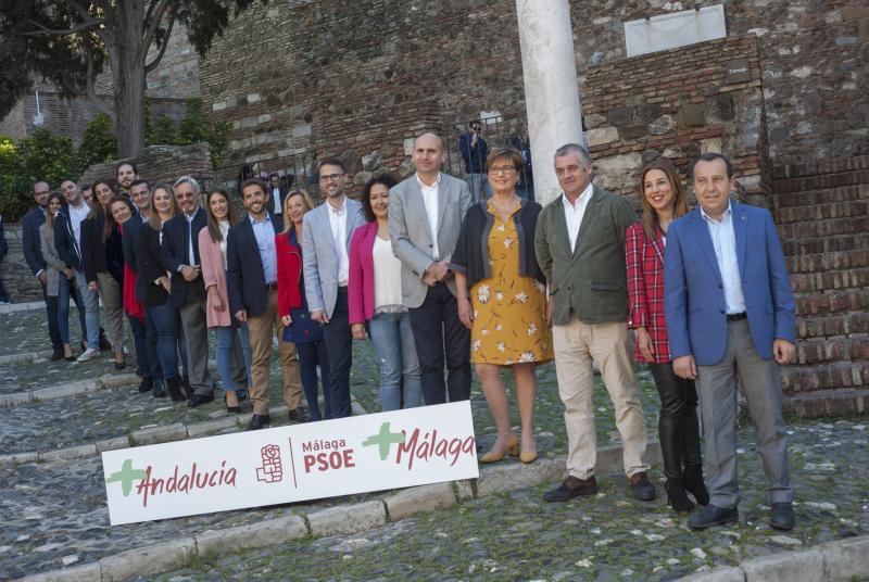 Ruiz Espejo presenta a los miembros de su candidatura de cara a la elecciones andaluzas