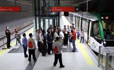 Absueltos cinco empleados del Metro de Málaga tras una denuncia de la empresa