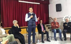 Juanma Moreno critica la «falta de interés» de la Junta por la educación «de calidad»