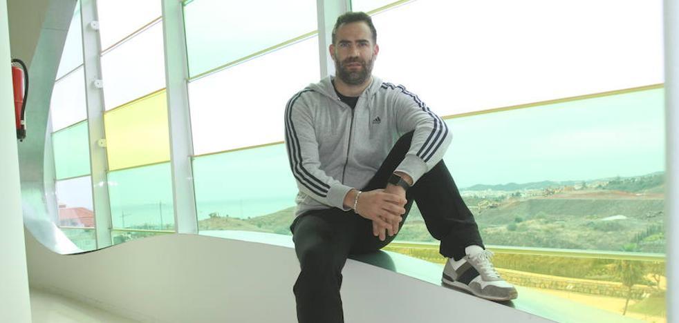 Carlos Cabezas: «Quiero retirarme jugando, en la pista»