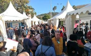 La noria del puerto, sede de 128 entrevistas de trabajo por la VI Feria del Empleo de Málaga