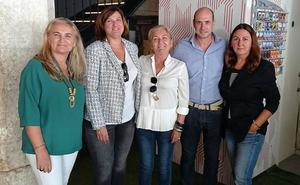 Juanibel Vera, nueva presidenta de la asociación de comerciantes del Centro Histórico de Málaga
