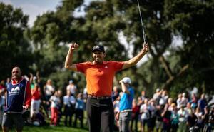 Sergio García hace historia y gana por tercera vez el Andalucía Masters