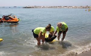 El 40% de las intervenciones del Servicio de Socorrismo en playas fue por incumplimiento de las normas