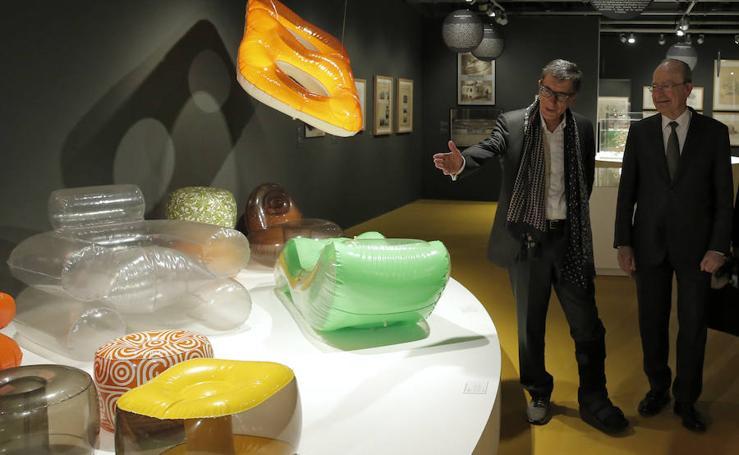 'Construir el aire. Arquitectura y diseño hinchable' en el Centre Pompidou de Málaga