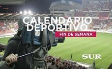 Horarios y TV de los eventos deportivos del fin de semana