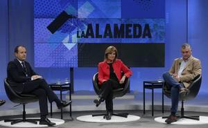 Javier Carnero y Esperanza Oña, protagonistas en 'La Alameda'
