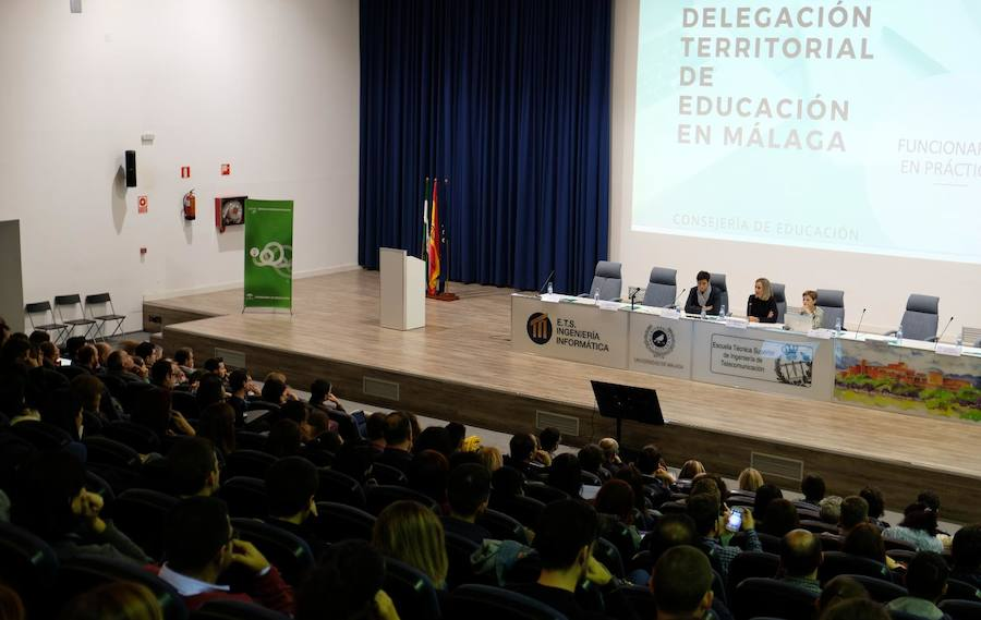 Málaga suma mil nuevos profesores de Secundaria y FP