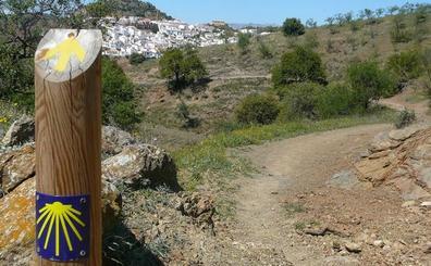 La senda malagueña que lleva a Santiago de Compostela