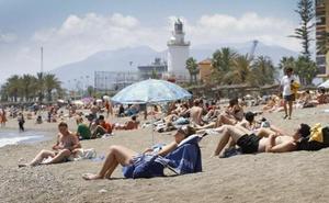 Las playas de la Misericordia, La Malagueta y Pedregalejo, distinguidas con las banderas Ecoplayas