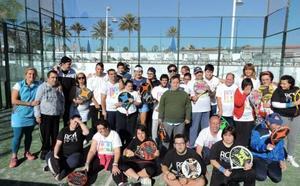 La asociación Palas para Todos organiza un torneo benéfico de pádel
