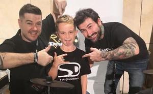 Sergio Drummer, el baterista de 9 años de Marbella que sigue sumando éxitos