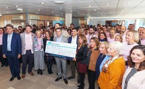 La Fundación CLC World dona 15.000 euros a la Asociación Española Contra el Cáncer