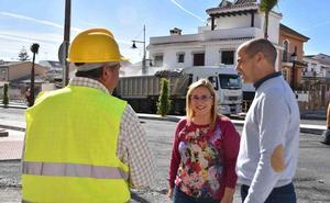 Las obras en el acceso a Fuengirola llegan al final tras invertir cuatro millones