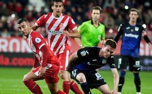 Frío empate entre el Girona y el Leganés en Montilivi