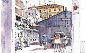 Málaga a trazos: La Goleta, 'terra incognita'