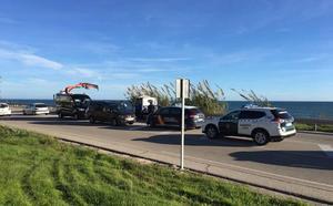 Localizados ocho ocupantes de la patera con migrantes que alcanzó la playa de Chilches este sábado