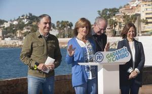 El PP promete una autovía a Ronda, la Ciudad Aeroportuaria y la solución definitiva al Guadalmedina