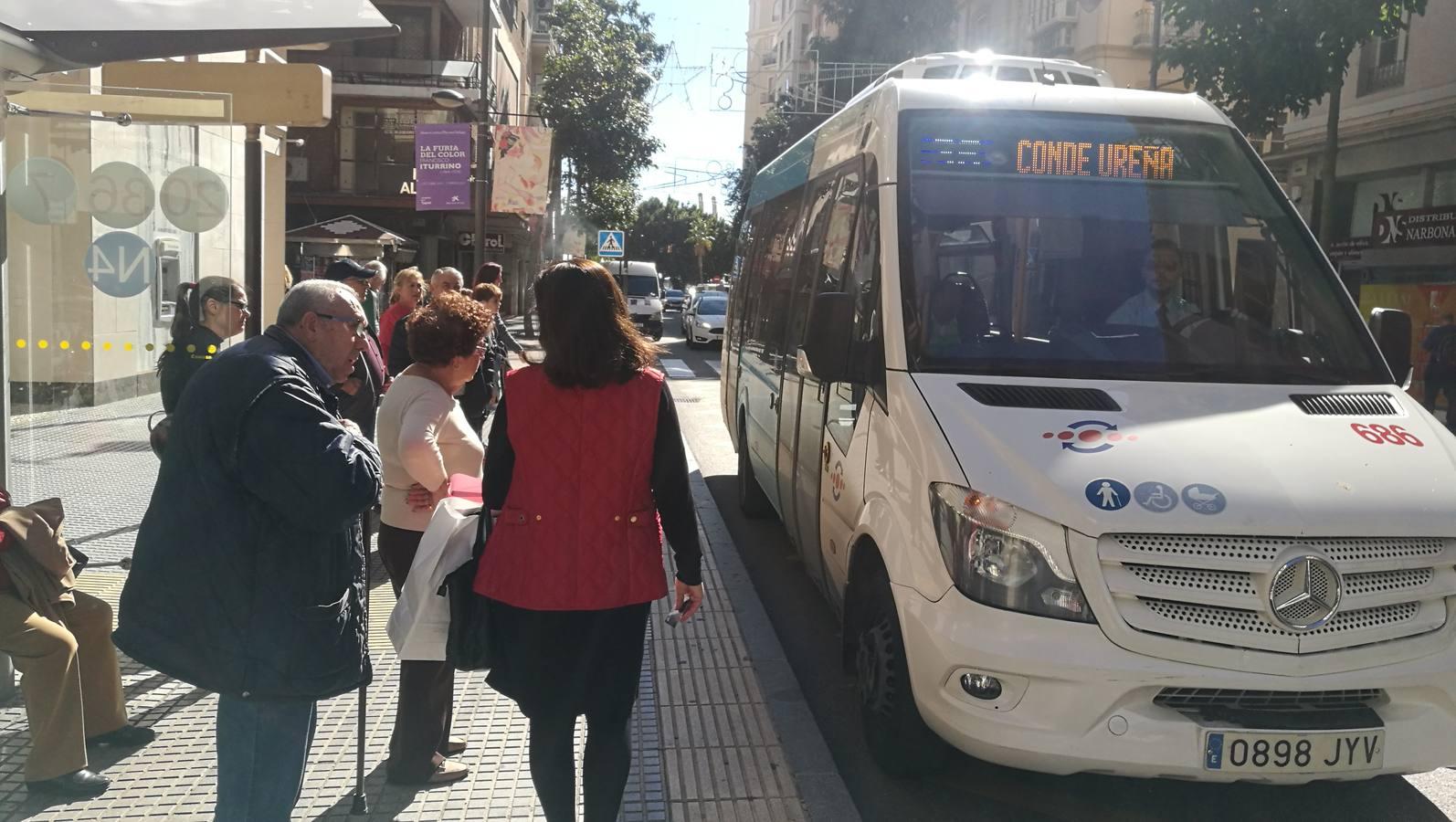 Conde Ureña y Barcenillas: el 36, un autobús que se hace esperar