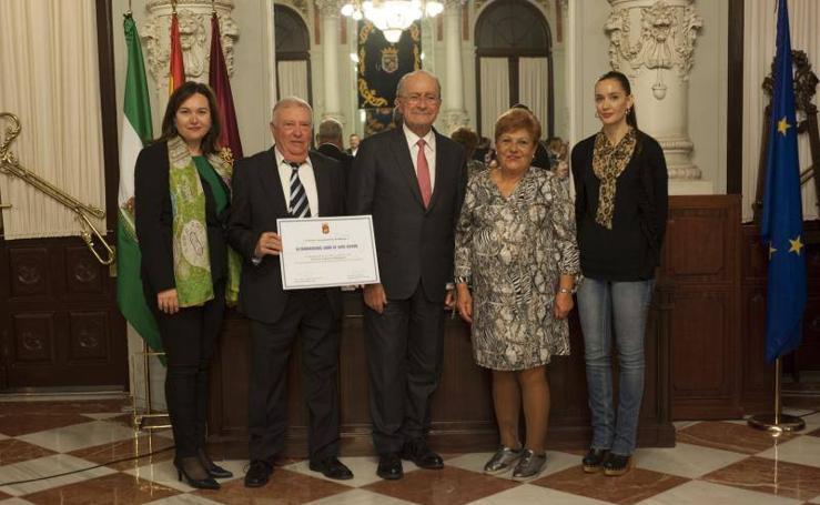 Distinciones a los comercios tradicionales con más historia en Málaga