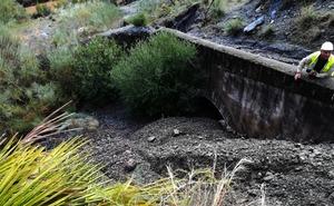 Emasa restablece el abastecimiento de agua a la capital desde los embalses del Guadalhorce interrumpido por las inundaciones