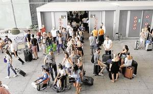 Aumenta un 1,2% el número de pasajeros del aeropuerto de Málaga