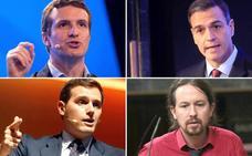 Todos los líderes nacionales harán campaña en Málaga