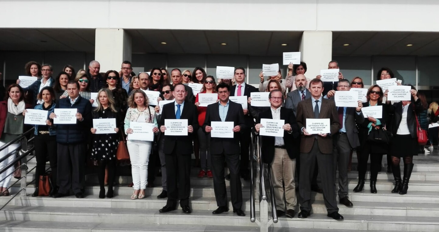 Letrados de la Administración piden mejoras salariales y la modernización de la Justicia