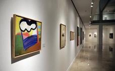 La exposición 'Palmeras de fuego', en La Coracha