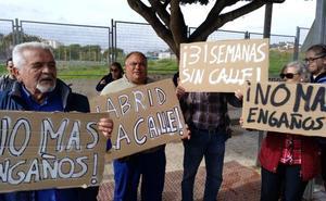 Piden la apertura total de una calle en Hacienda Cabello