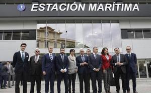 La remodelada estación marítima de Málaga registrará este año un aumento de pasajeros y prevé llegar a los 350.000