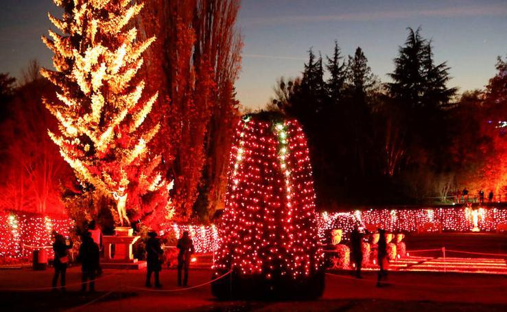 Las imágenes del Christmas Garden en Berlín