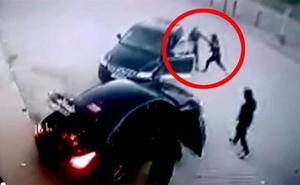 Un héroe se enfrenta a tres ladrones mientras estaban robando en un polígono de Mollina