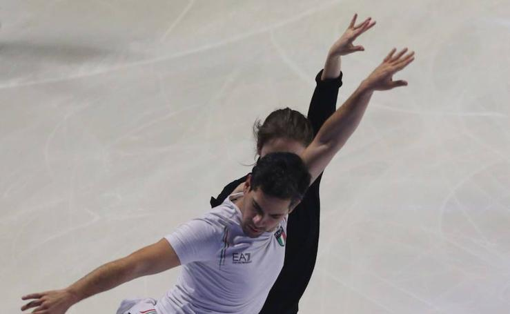 Espectáculo y preparativos de 'Revolution on Ice' en Málaga