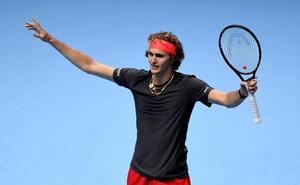 Zverev-Federer y Djokovic-Anderson, en semifinales