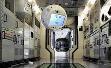 El robot Cimon supera su primer día de trabajo en la Estación Espacial Internacional