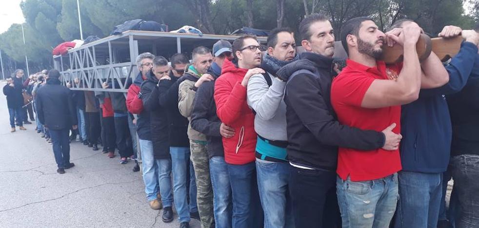Madrid ficha hombres de trono de Málaga para su Semana Santa
