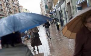 Aemet prevé lluvias intensas este domingo en Málaga