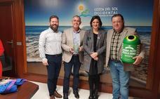 Manilva y Casares reciben el premio 'iglú verde' por el reciclaje de vidrio