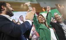 Susana Díaz apela en Málaga a la «felicidad» en una campaña marcada por el optimismo del PSOE