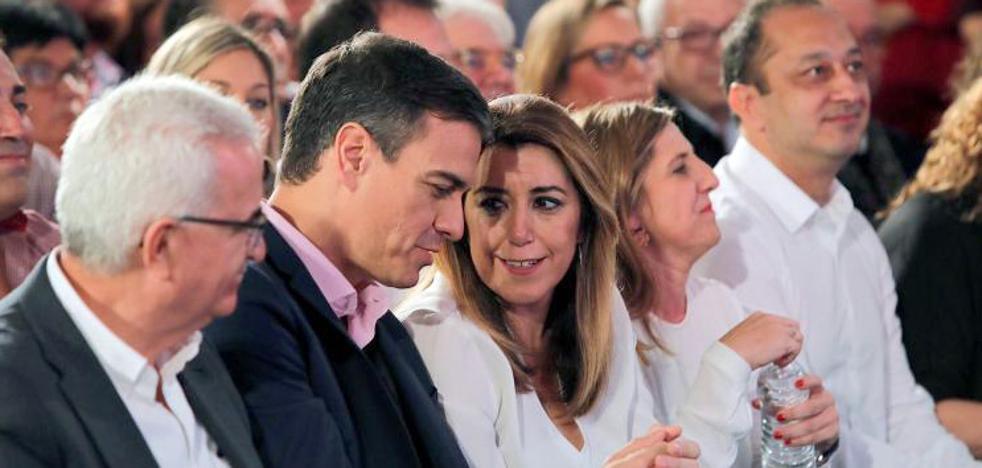Sánchez arropa a Díaz y reclama una victoria «rotunda» para evitar el bloqueo