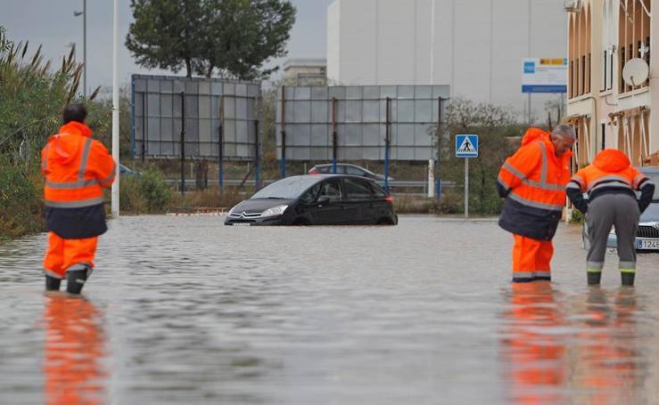 Las imágenes de las últimas lluvias